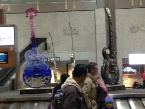 Austin Airport Guitars