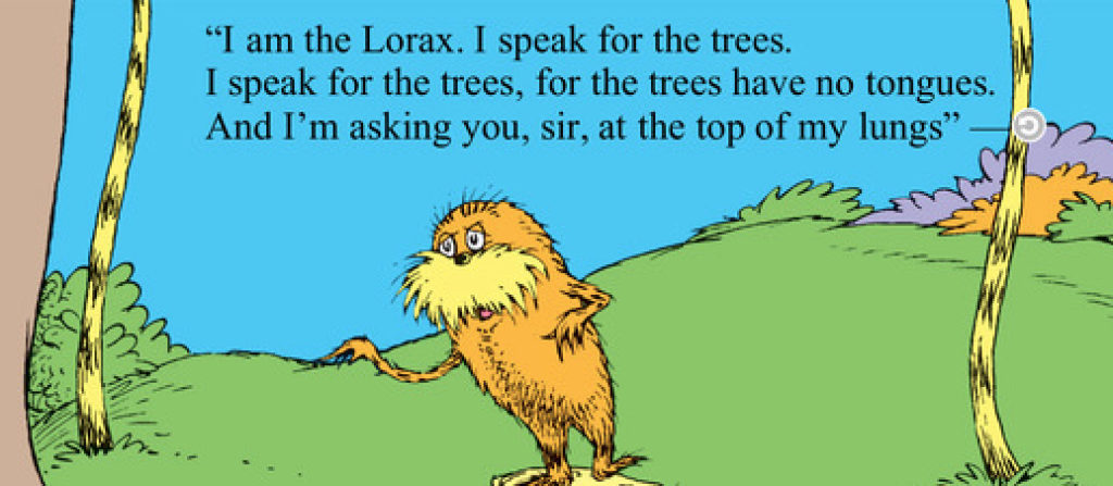Who Speaks for the Trees?